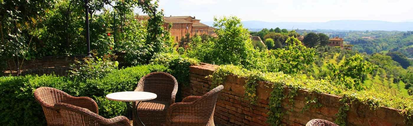 Garden Terrace Hotel Palazzo Ravizza Siena