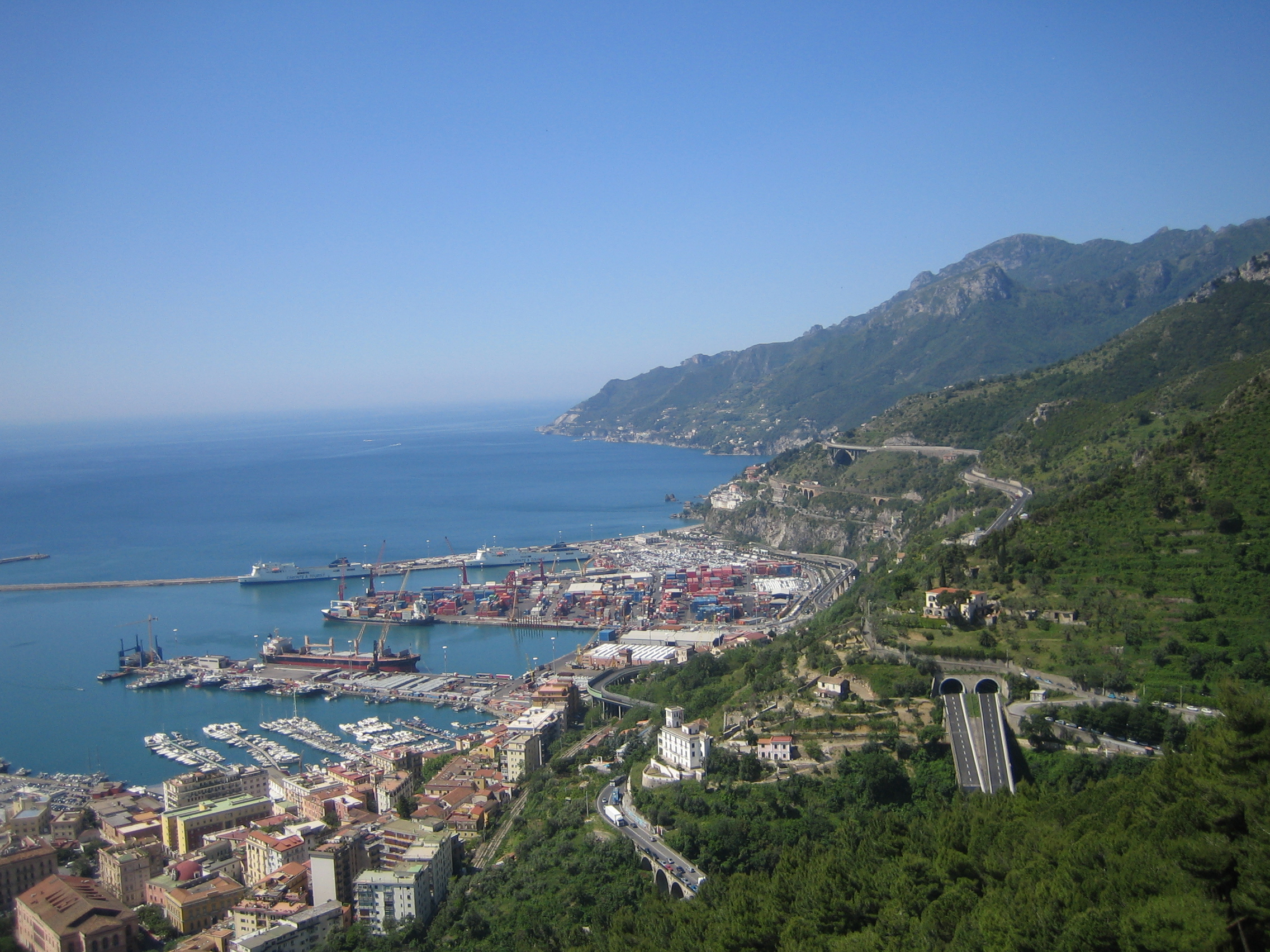 Salerno_From Arechi Castle