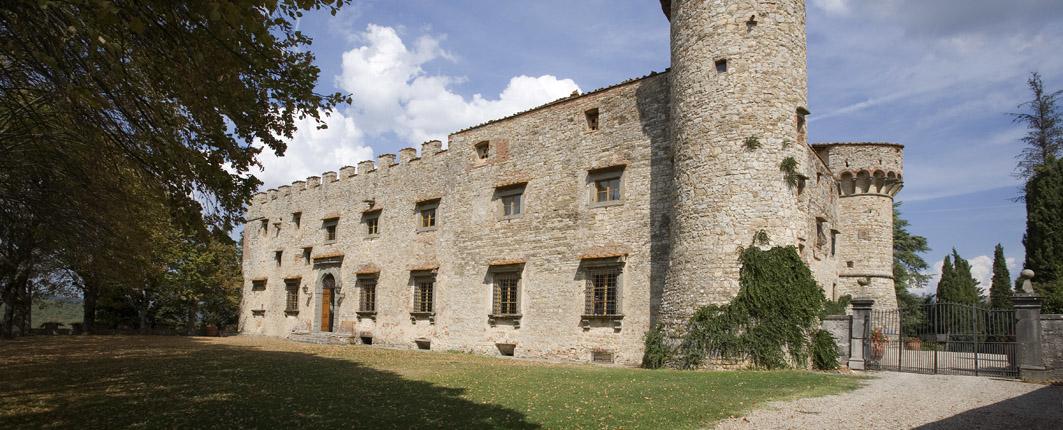 Tuscany Chianti Region Castle of Meleto